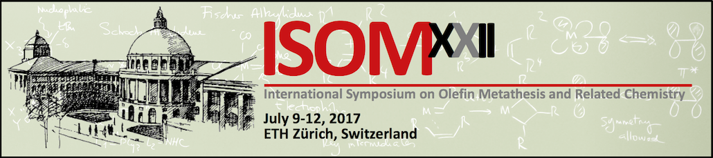 international symposium on olefin metathesis and related chemistry The 22nd international symposium on olefin metathesis (isom-xii) will take place at eth zürich from july 9-12, 2017 this biennial event on metathesis and related reactions showcases advances ranging from new catalyzed reactions and processes, to ligand and catalyst design, and mechanistic advances that can change implementation into practice.